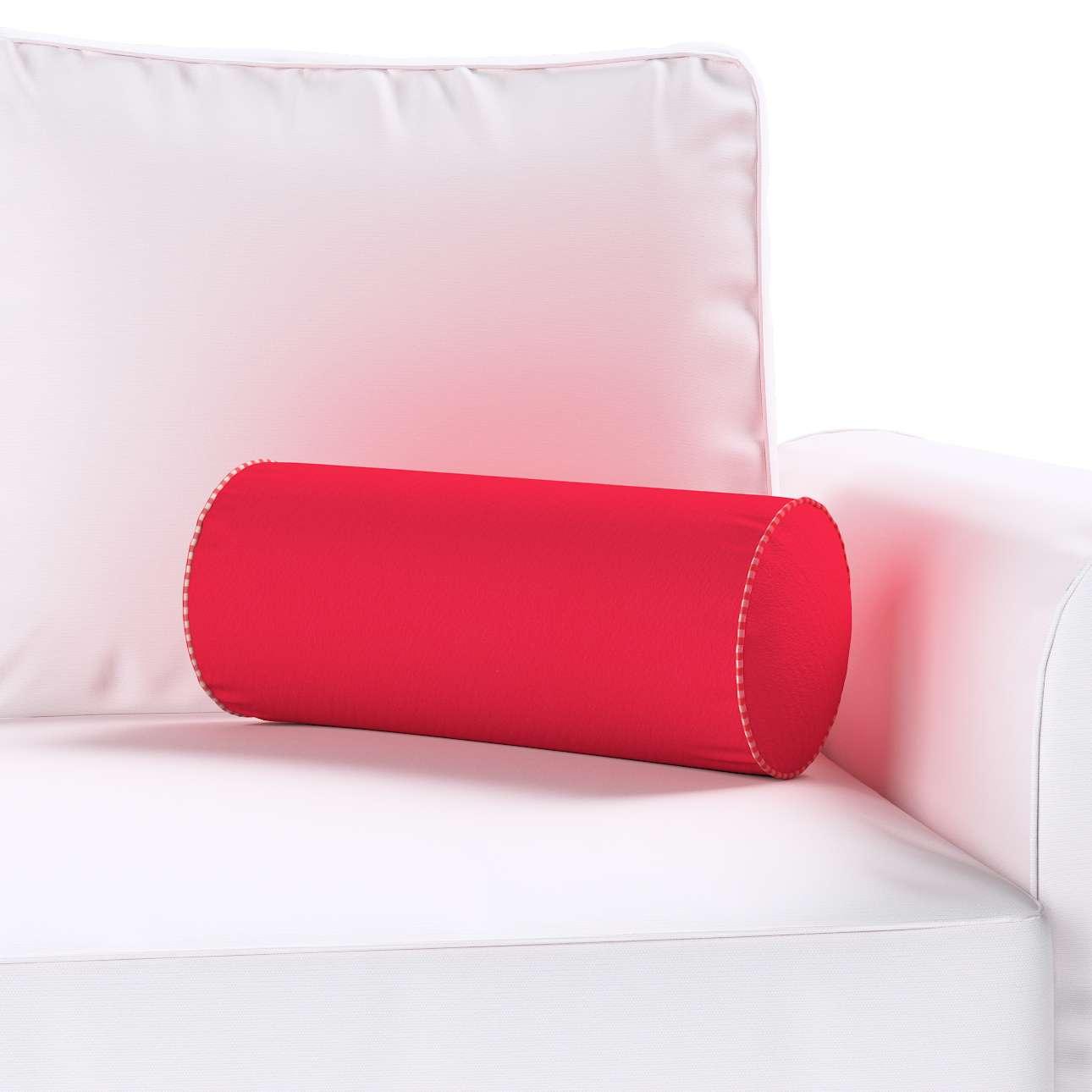 Poduszka wałek prosty w kolekcji Quadro, tkanina: 136-19