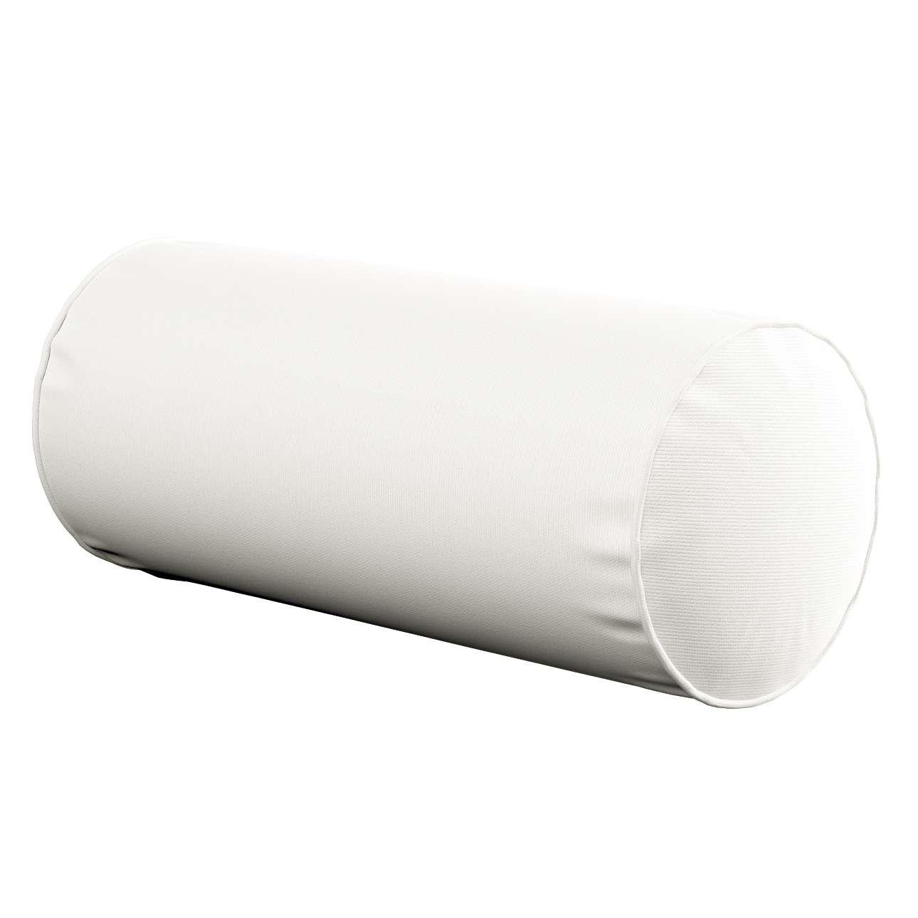 Einfache Nackenrolle Ø 16 x 40 cm von der Kollektion Cotton Panama, Stoff: 702-34