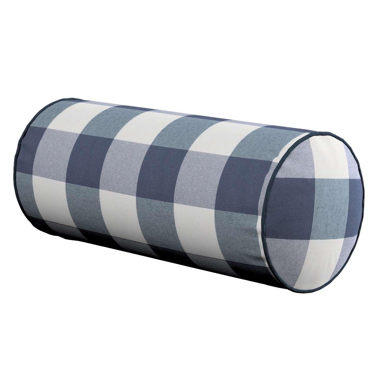Poduszka wałek prosty w kolekcji Quadro, tkanina: 136-03