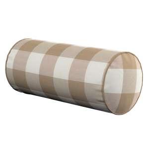 Ritinio formos  pagalvėlės užvalkalas Ø 16 x 40 cm (6 x 16 inch) kolekcijoje Quadro, audinys: 136-08
