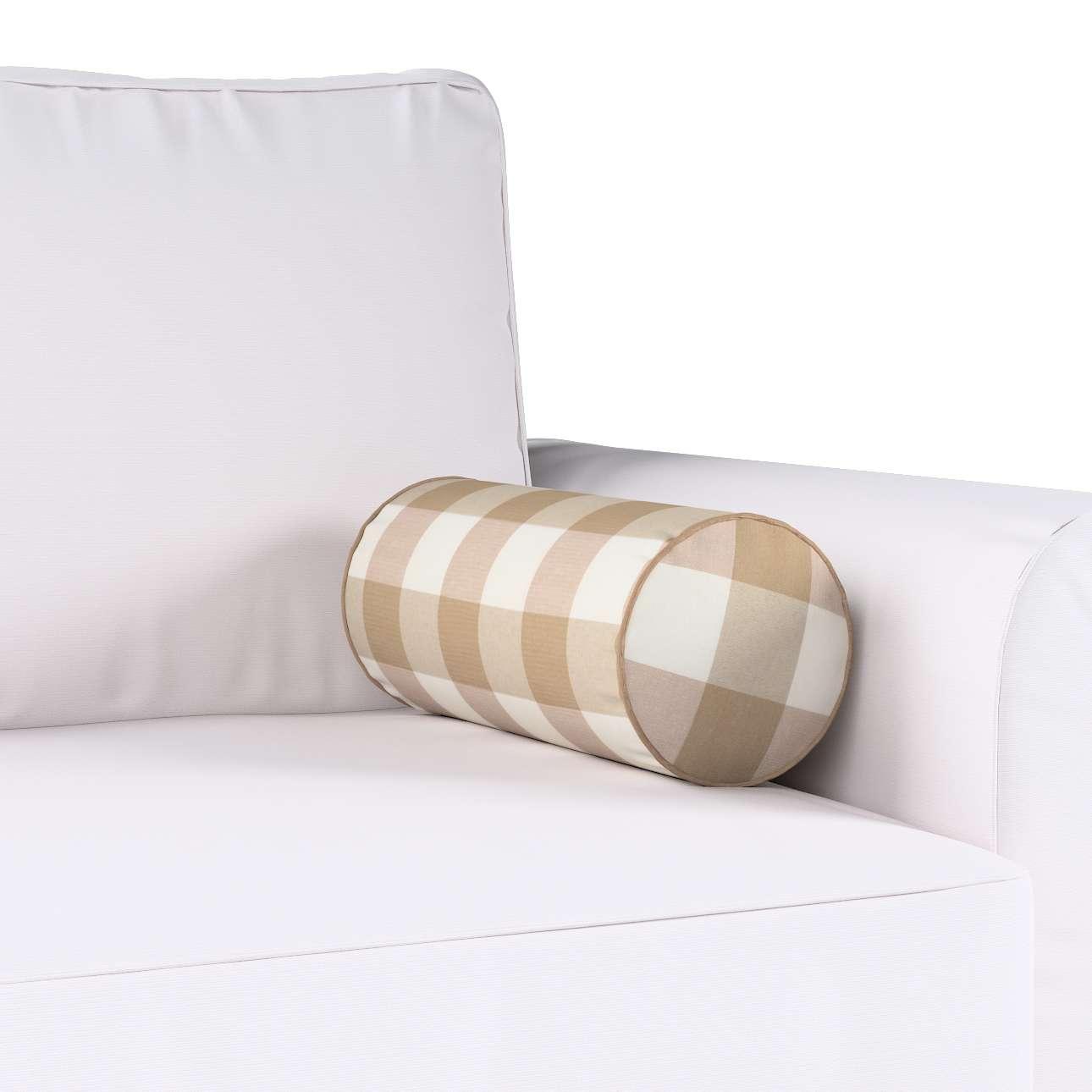 Poduszka wałek prosty w kolekcji Quadro, tkanina: 136-08
