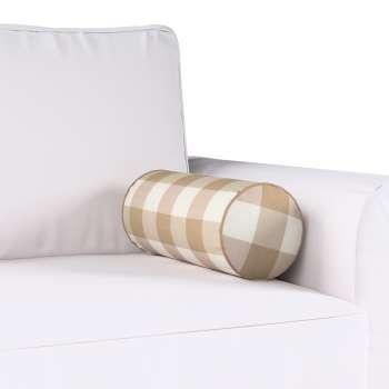 Poduszka wałek prosty Ø16x40cm w kolekcji Quadro, tkanina: 136-08