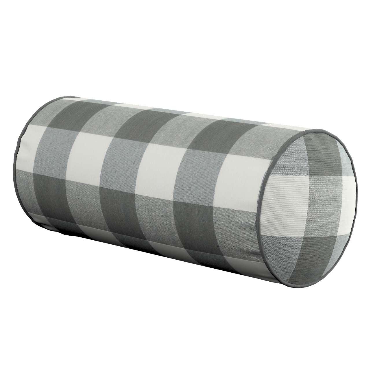 Ritinio formos  pagalvėlės užvalkalas Ø 16 x 40 cm (6 x 16 inch) kolekcijoje Quadro, audinys: 136-13