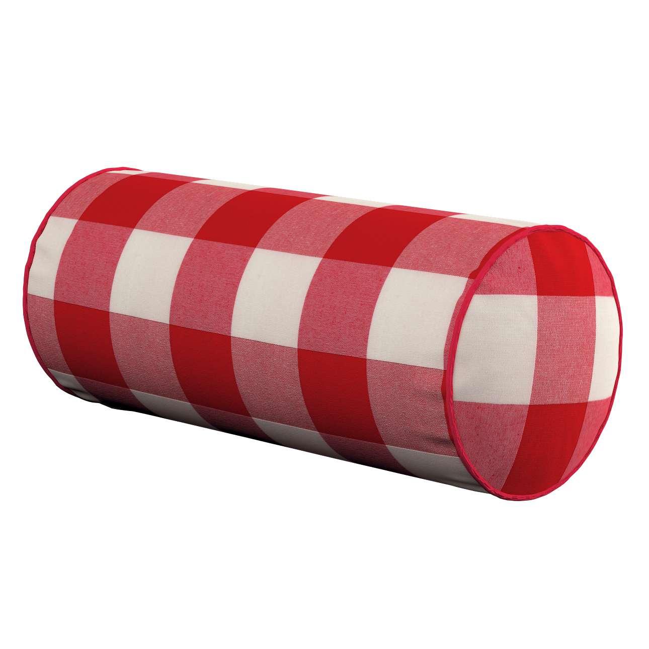 Ritinio formos  pagalvėlė Ø 16 x 40 cm (6 x 16 inch) kolekcijoje Quadro, audinys: 136-18
