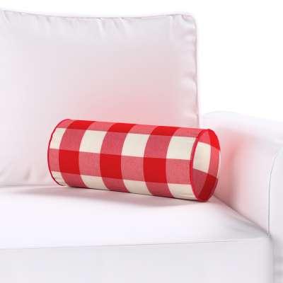 Poduszka wałek prosty w kolekcji Quadro, tkanina: 136-18