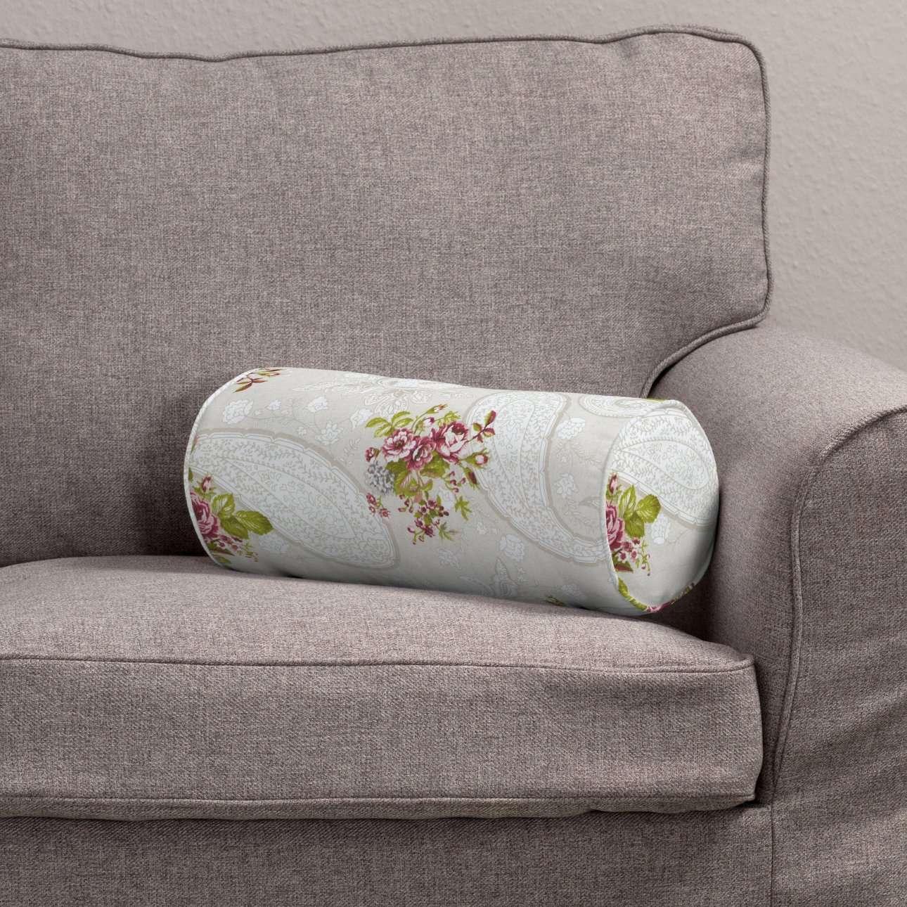 Ritinio formos  pagalvėlė Ø 16 x 40 cm (6 x 16 inch) kolekcijoje Flowers, audinys: 311-15