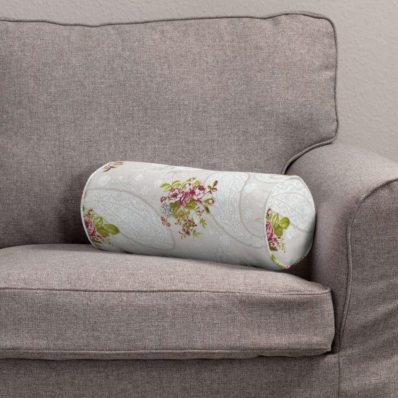 Ritinio formos  pagalvėlės užvalkalas Ø 16 x 40 cm (6 x 16 inch) kolekcijoje Flowers, audinys: 311-15