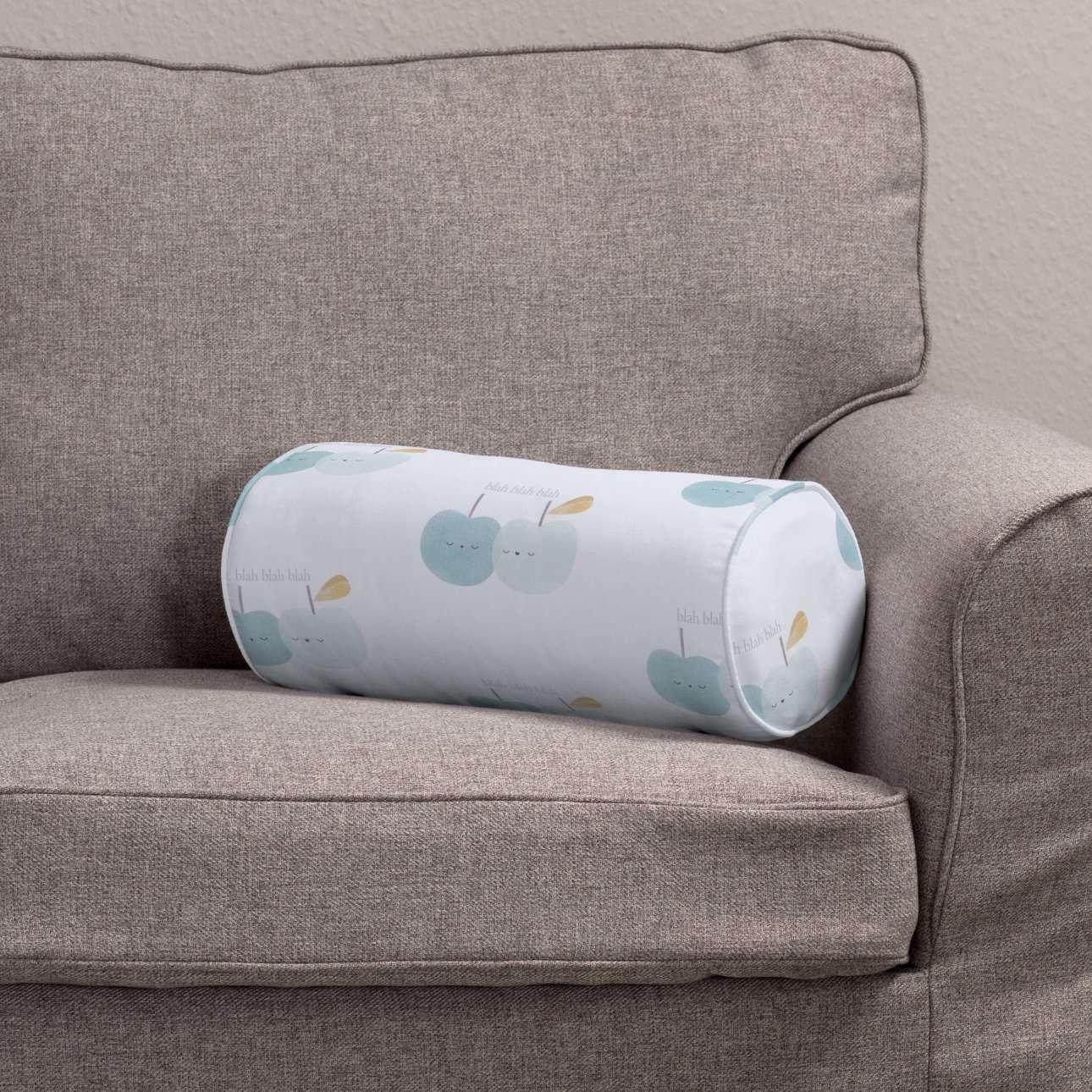 Ritinio formos  pagalvėlės užvalkalas Ø 16 x 40 cm (6 x 16 inch) kolekcijoje Apanona, audinys: 151-02