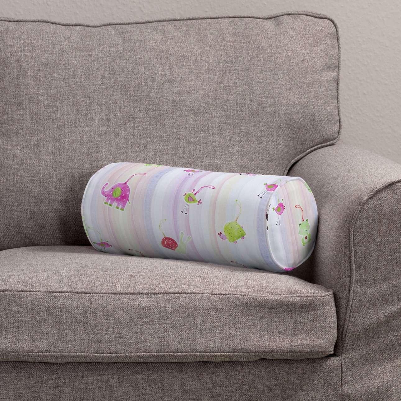 Poduszka wałek prosty Ø 16 x 40 cm w kolekcji Apanona, tkanina: 151-05