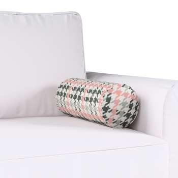 Poduszka wałek prosty Ø16x40cm w kolekcji Brooklyn, tkanina: 137-75