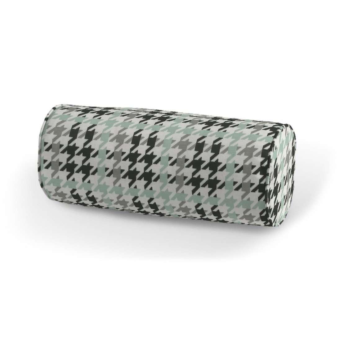 Poduszka wałek prosty Ø16x40cm w kolekcji Brooklyn, tkanina: 137-77