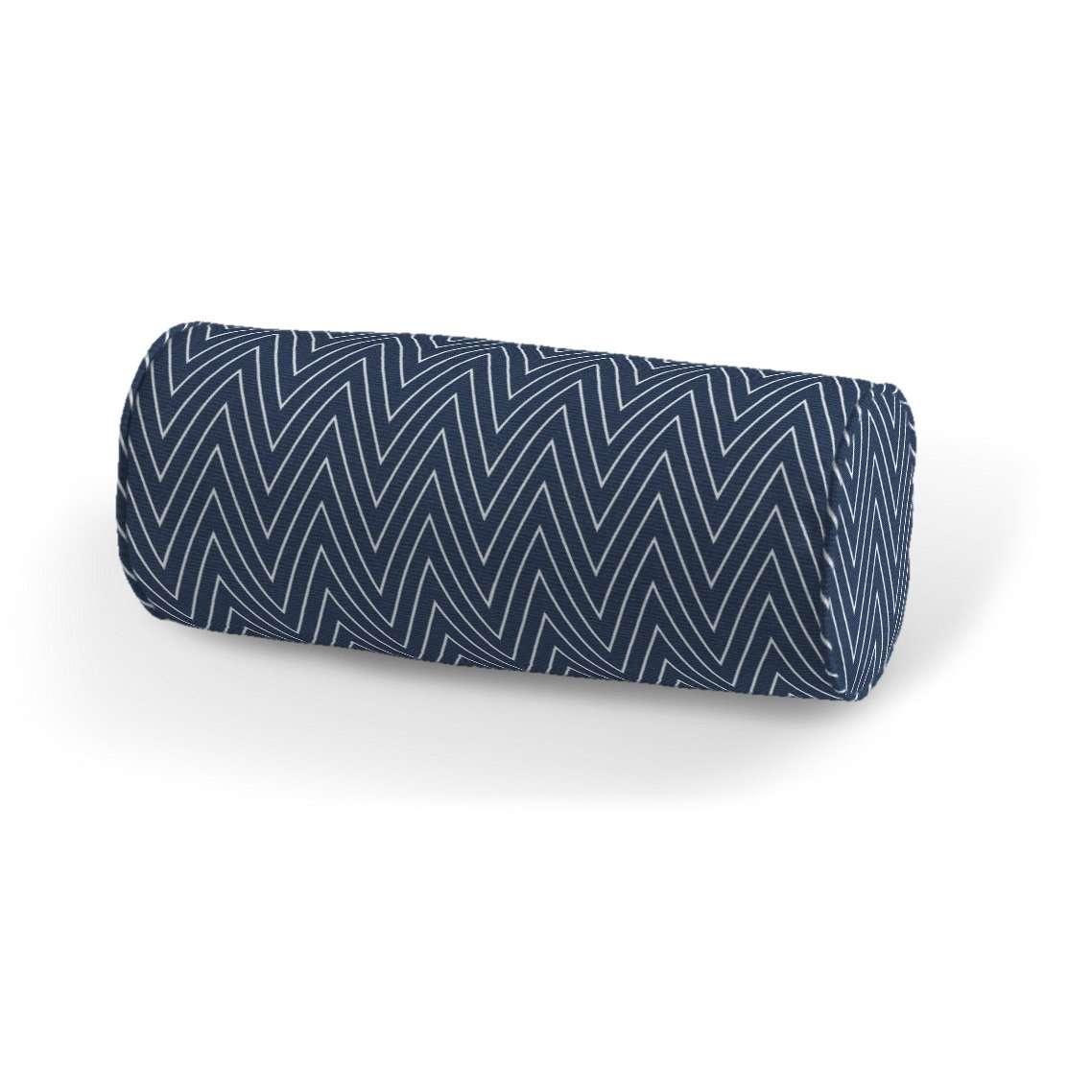 Poduszka wałek prosty Ø16x40cm w kolekcji Brooklyn, tkanina: 137-88