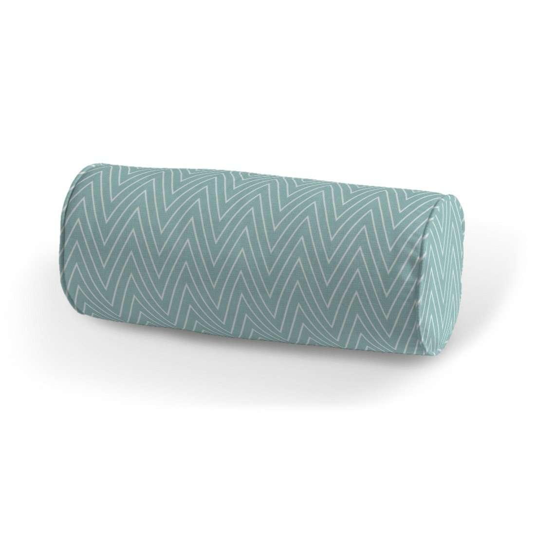 Poduszka wałek prosty Ø 16 x 40 cm w kolekcji Brooklyn, tkanina: 137-90