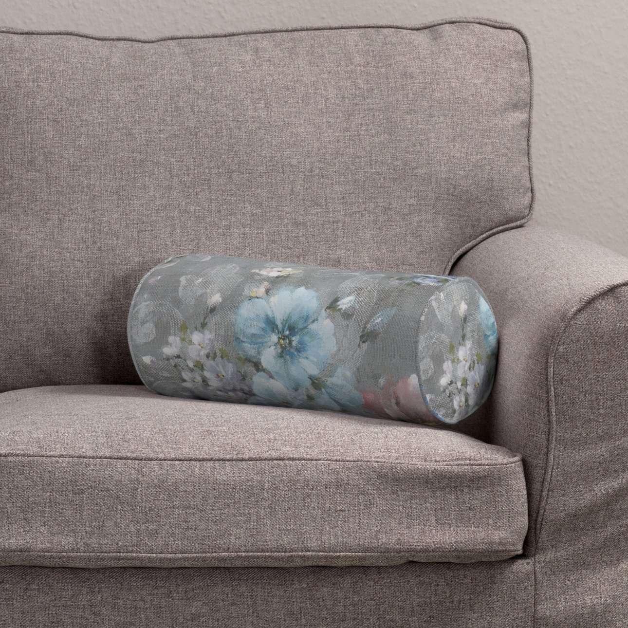 Wałek prosty Ø 16 x 40 cm w kolekcji Monet, tkanina: 137-81