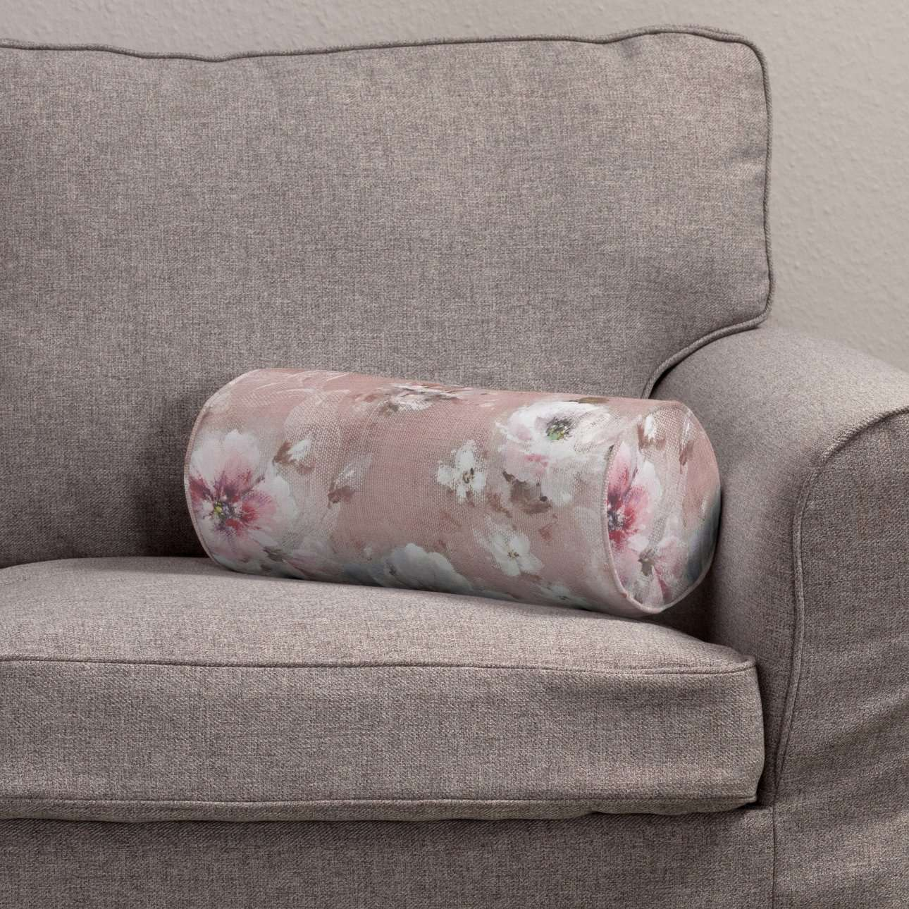 Poduszka wałek prosty Ø 16 x 40 cm w kolekcji Monet, tkanina: 137-83