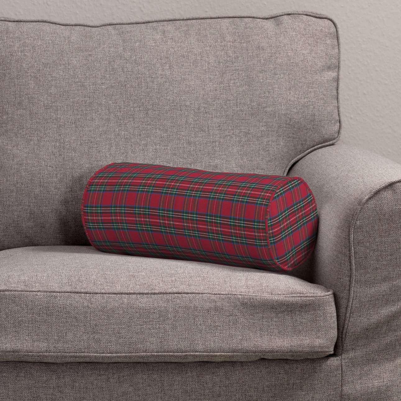 Poduszka wałek prosty Ø 16 x 40 cm w kolekcji Bristol, tkanina: 126-29