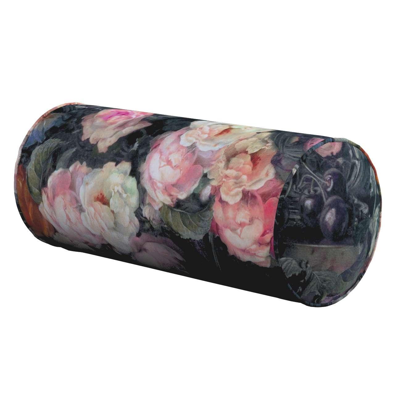 Einfache Nackenrolle, bunt, Ø 16 × 40 cm, Gardenia | Schlafzimmer > Kopfkissen > Nackenstützkissen & Nackenrollen | Dekoria