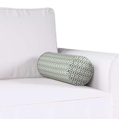 Poduszka wałek prosty w kolekcji Black & White, tkanina: 142-76