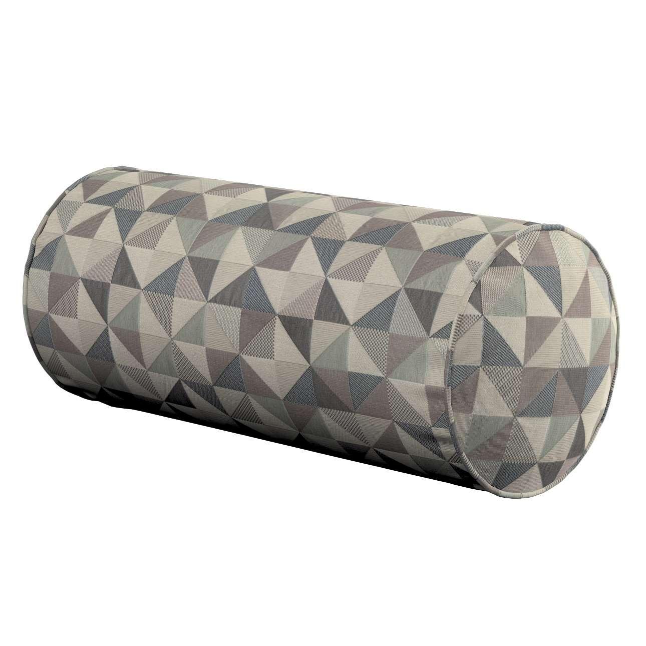 Einfache Nackenrolle, grau, Ø 16 × 40 cm, Retro Glam   Schlafzimmer > Kopfkissen   Dekoria