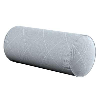 Einfache Nackenrolle 142-57 grau-silbern Kollektion Venice