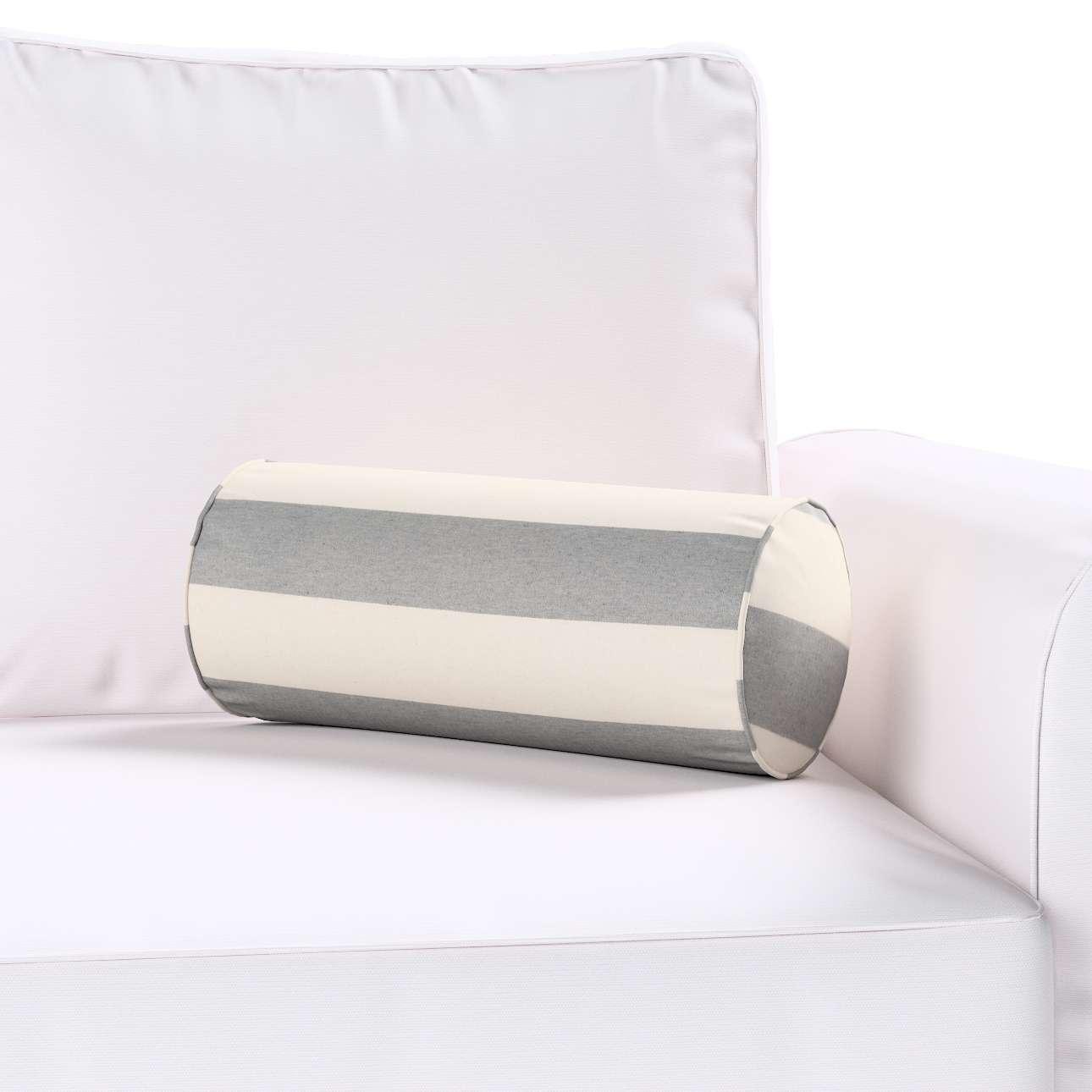 Poduszka wałek prosty w kolekcji Quadro, tkanina: 142-71