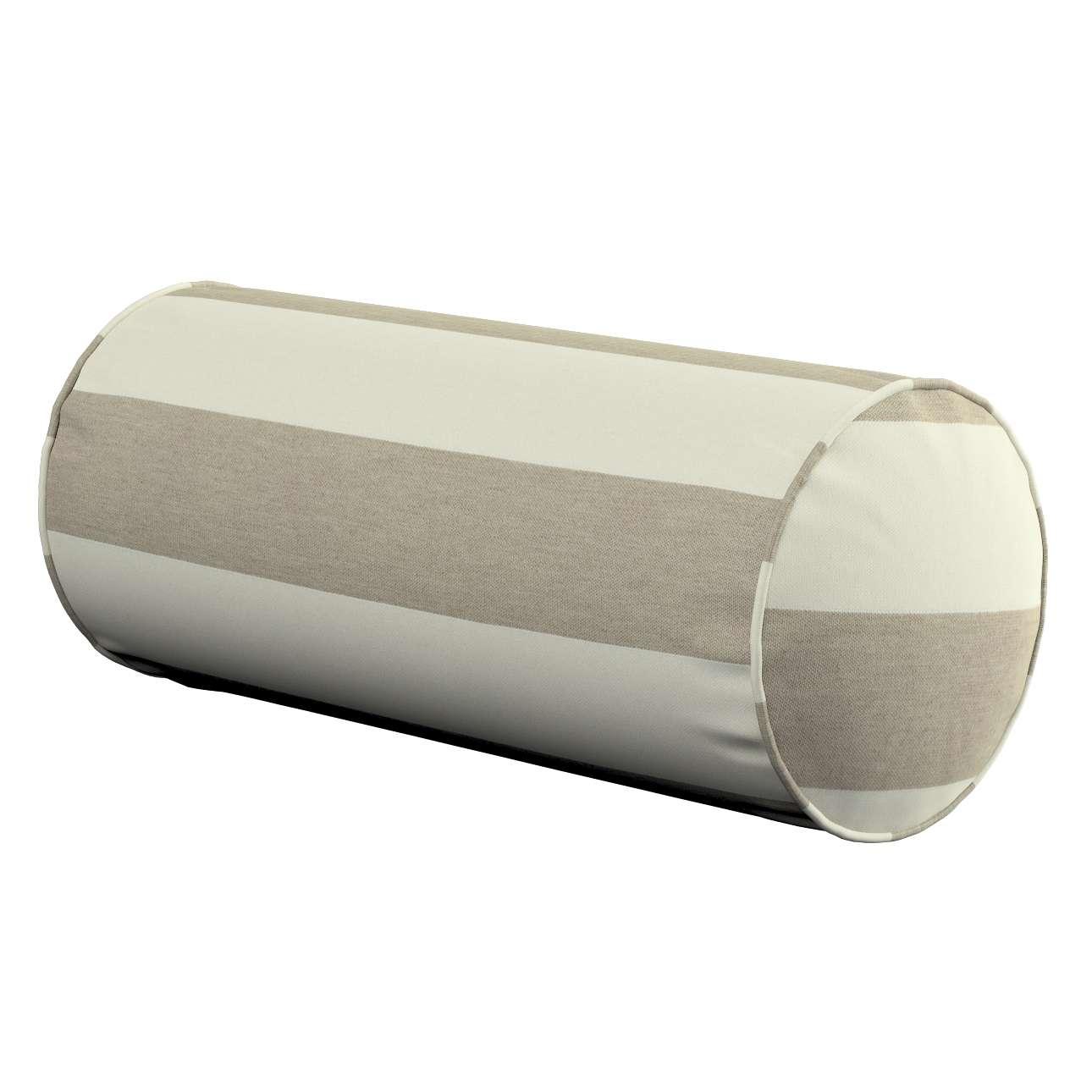 Poduszka wałek prosty w kolekcji Quadro, tkanina: 142-73