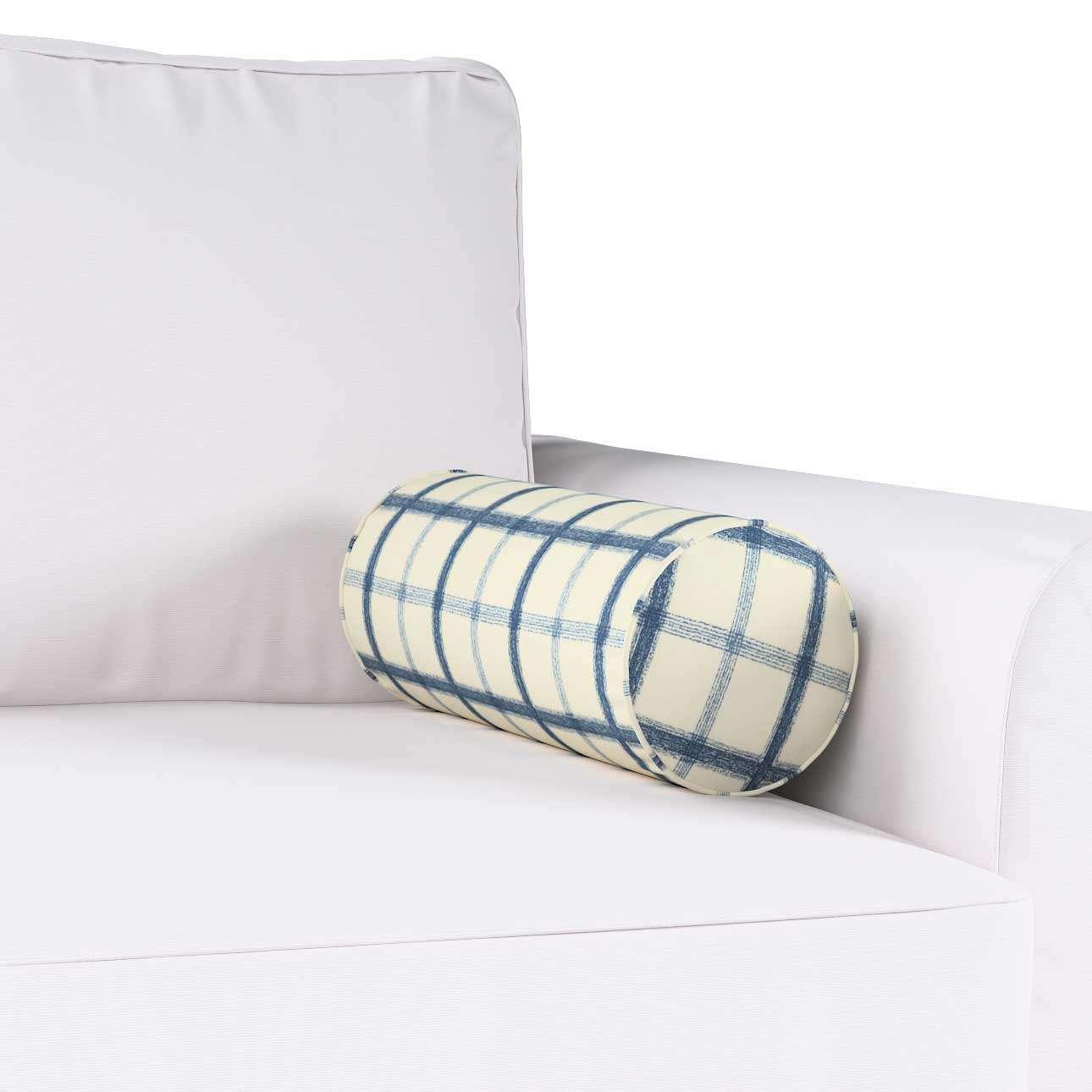 Poduszka wałek prosty Ø16x40cm w kolekcji Avinon, tkanina: 131-66