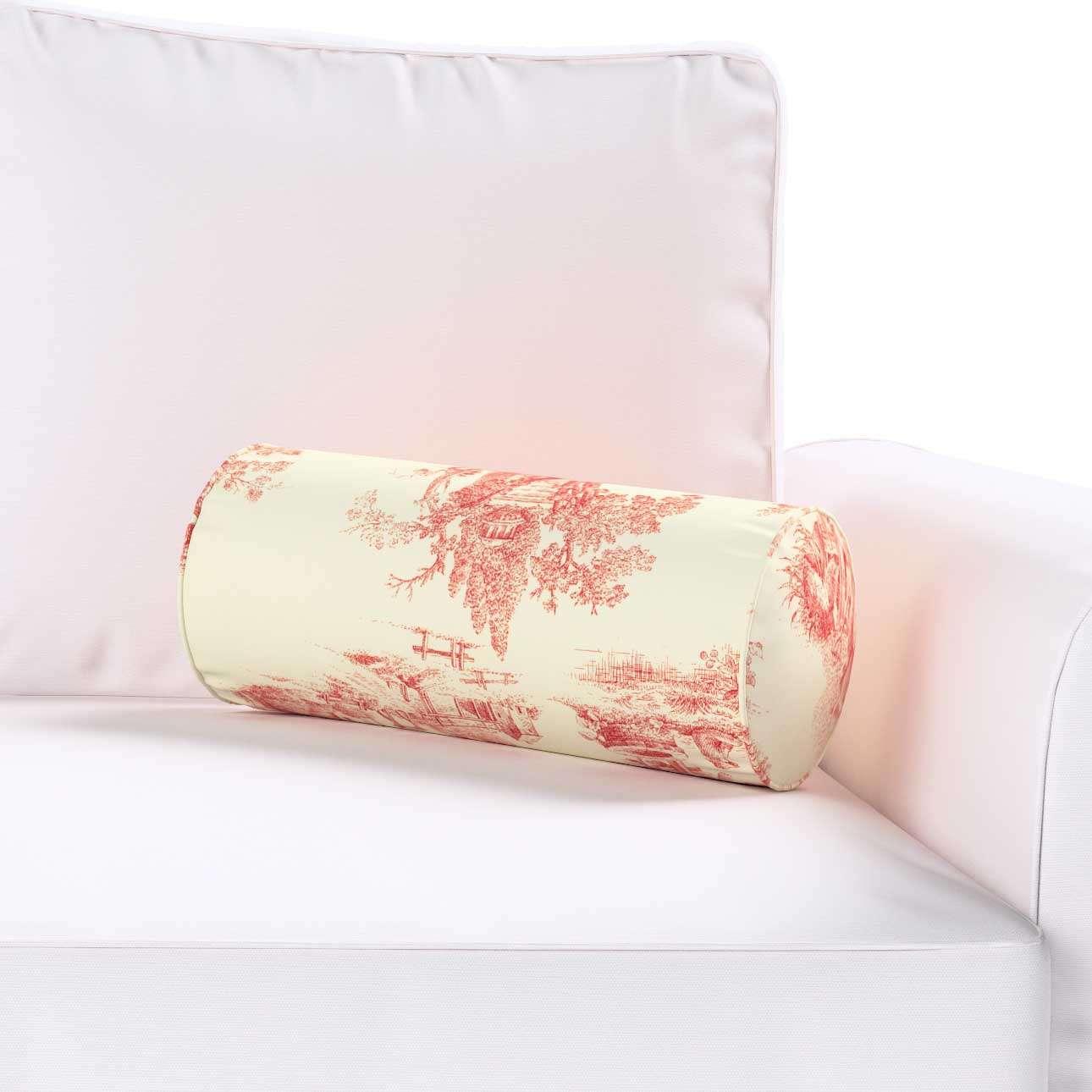 Poduszka wałek prosty Ø16x40cm w kolekcji Avinon, tkanina: 132-15