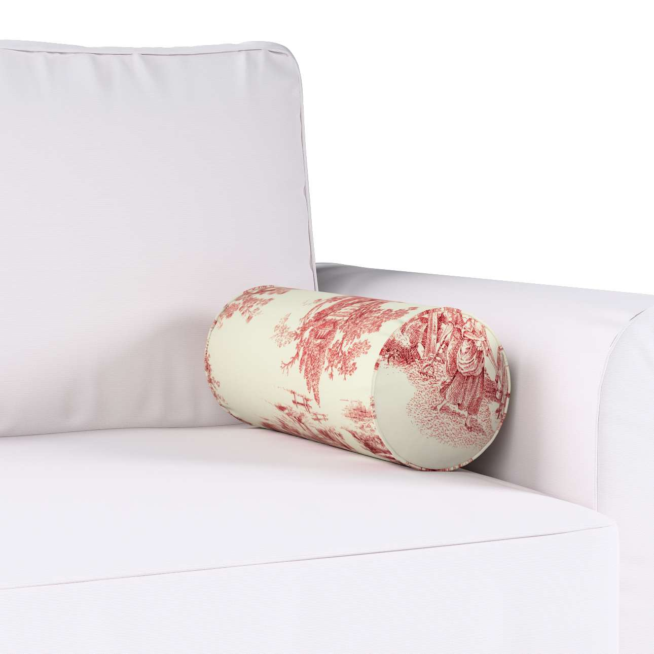Poduszka wałek prosty w kolekcji Avinon, tkanina: 132-15