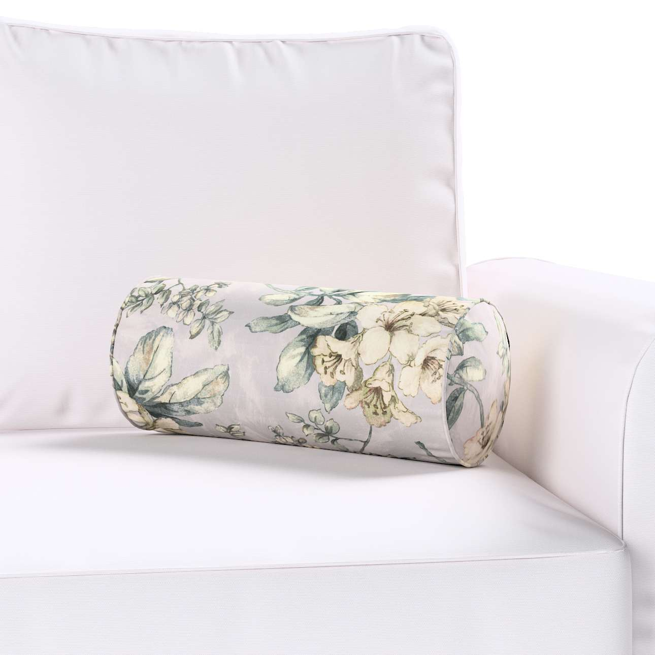 Poduszka wałek prosty w kolekcji Londres, tkanina: 143-36