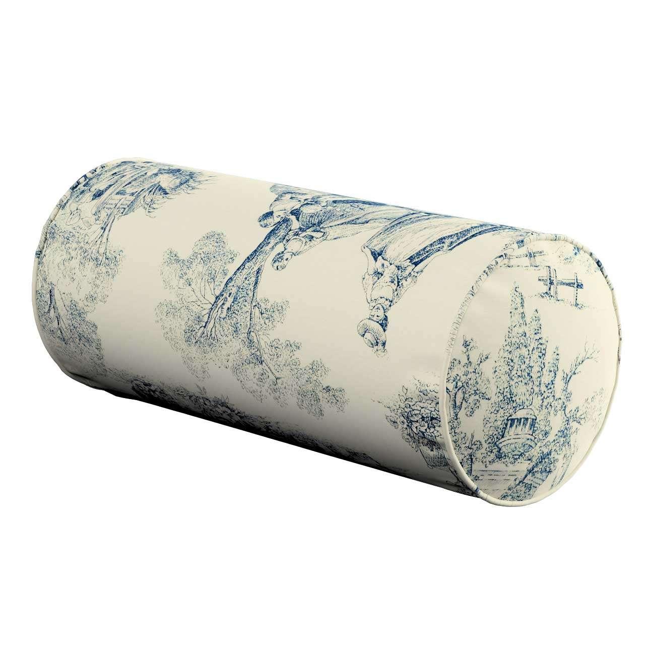 Poduszka wałek prosty Ø 16 x 40 cm w kolekcji Avinon, tkanina: 132-66
