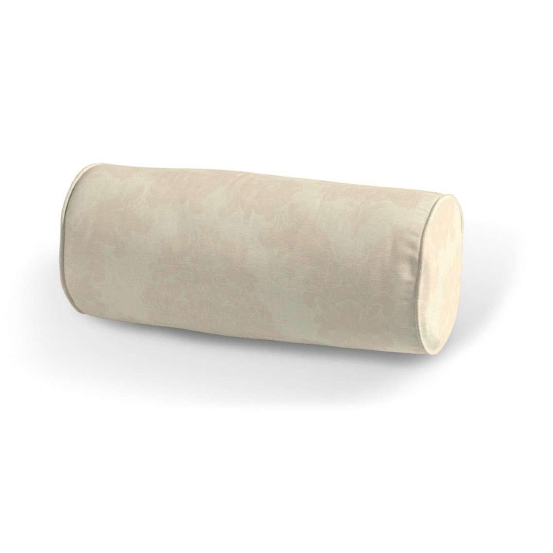 Poduszka wałek prosty Ø16x40cm w kolekcji Damasco, tkanina: 613-01