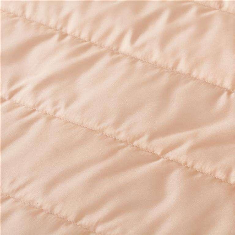 Komplektas Morfeo Peach 01(lovatiesė, pagalvėlės ir užuolaidos) komplektas