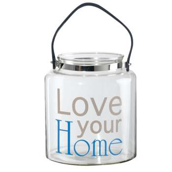 Glasbehälter Love your Home, 25cm