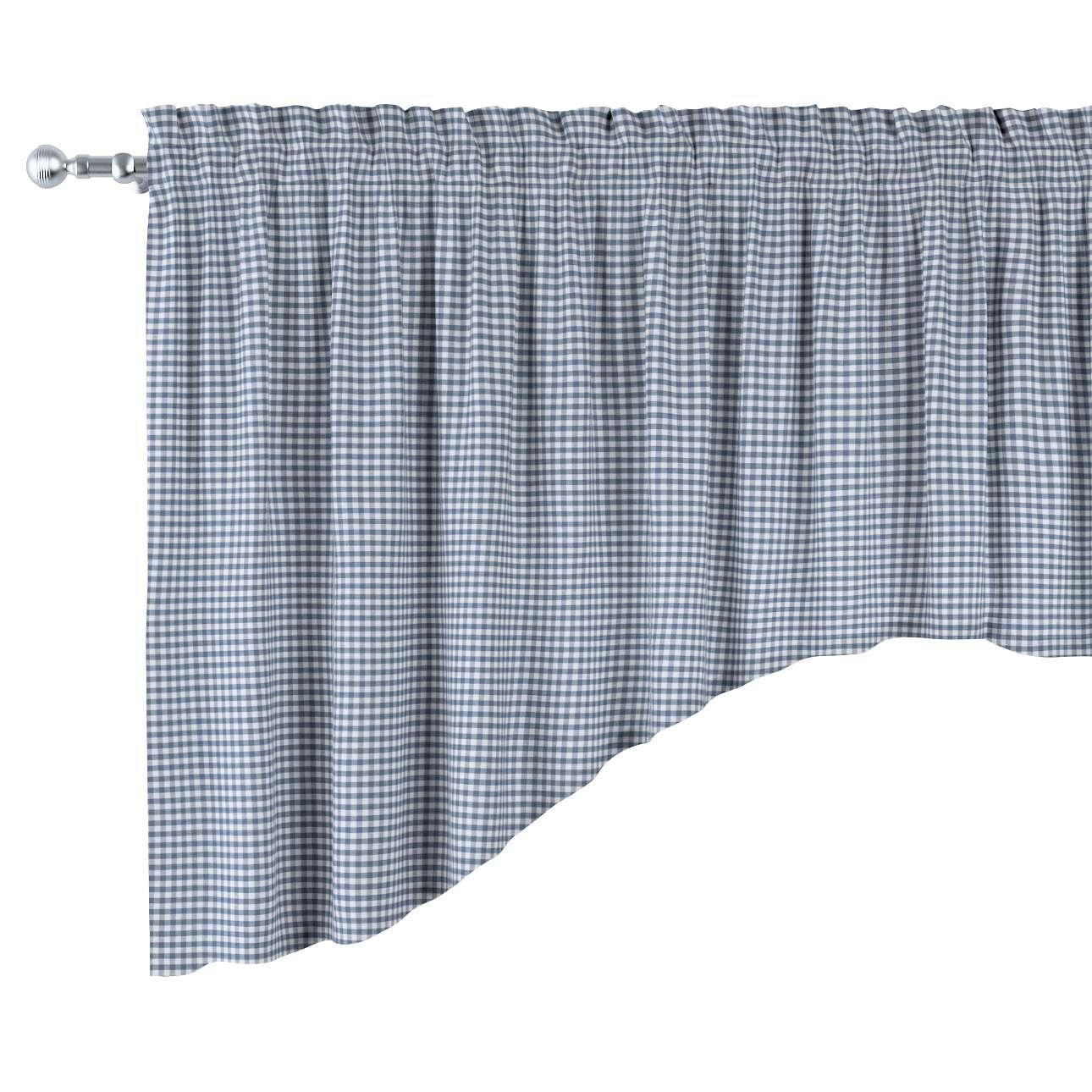 Lambrekin łuk w kolekcji Quadro, tkanina: 136-00