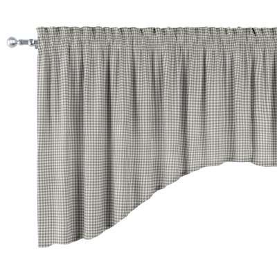 Lambrekin łuk w kolekcji Quadro, tkanina: 136-10