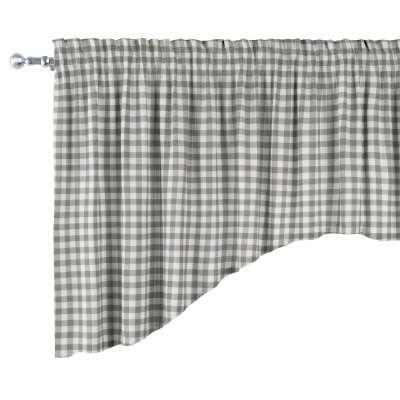 Lambrekin łuk w kolekcji Quadro, tkanina: 136-11