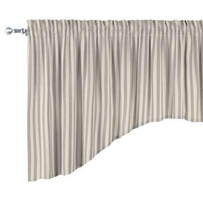 Lambrekin łuk w kolekcji Quadro, tkanina: 136-12