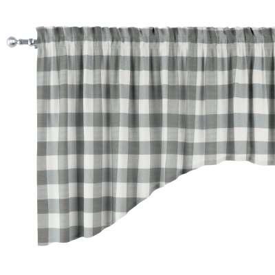 Lambrekin łuk w kolekcji Quadro, tkanina: 136-13