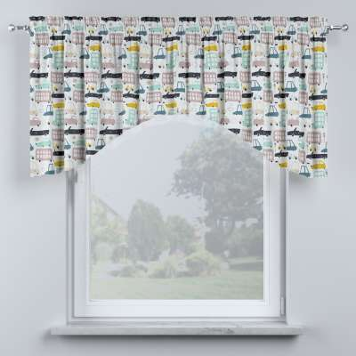 Bow lambrequin in collection Magic Collection, fabric: 500-02
