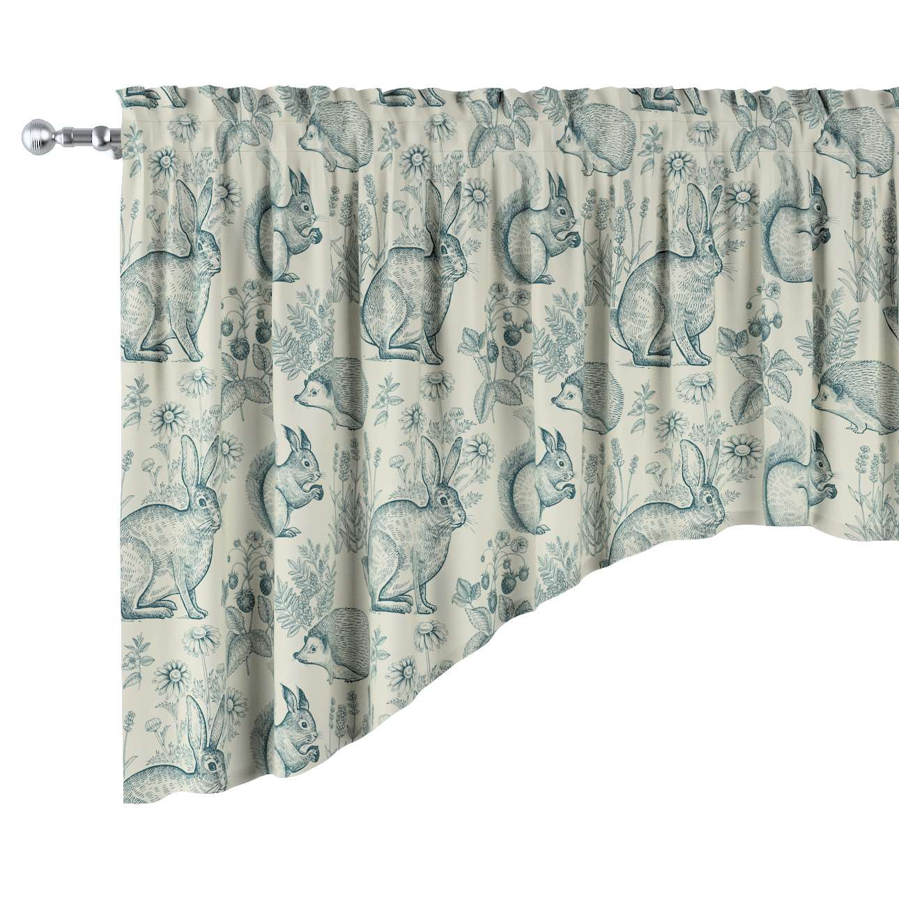 Bow lambrequin in collection Magic Collection, fabric: 500-04