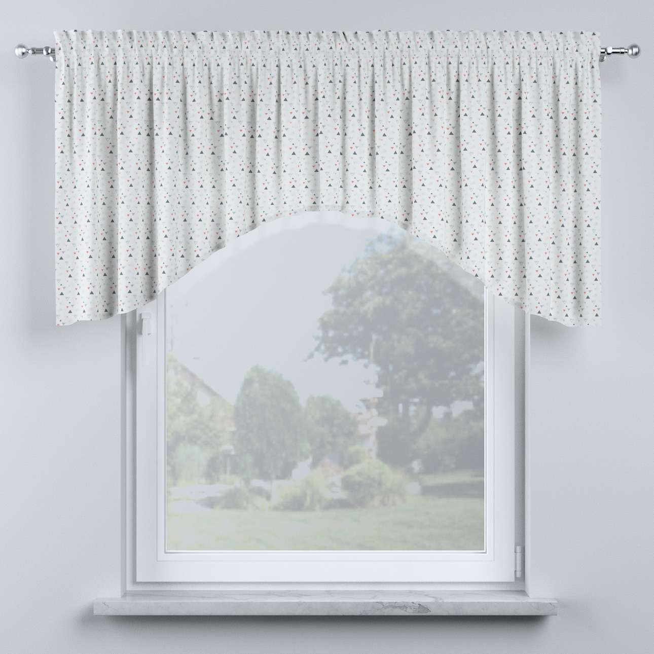 Bow lambrequin in collection Magic Collection, fabric: 500-22