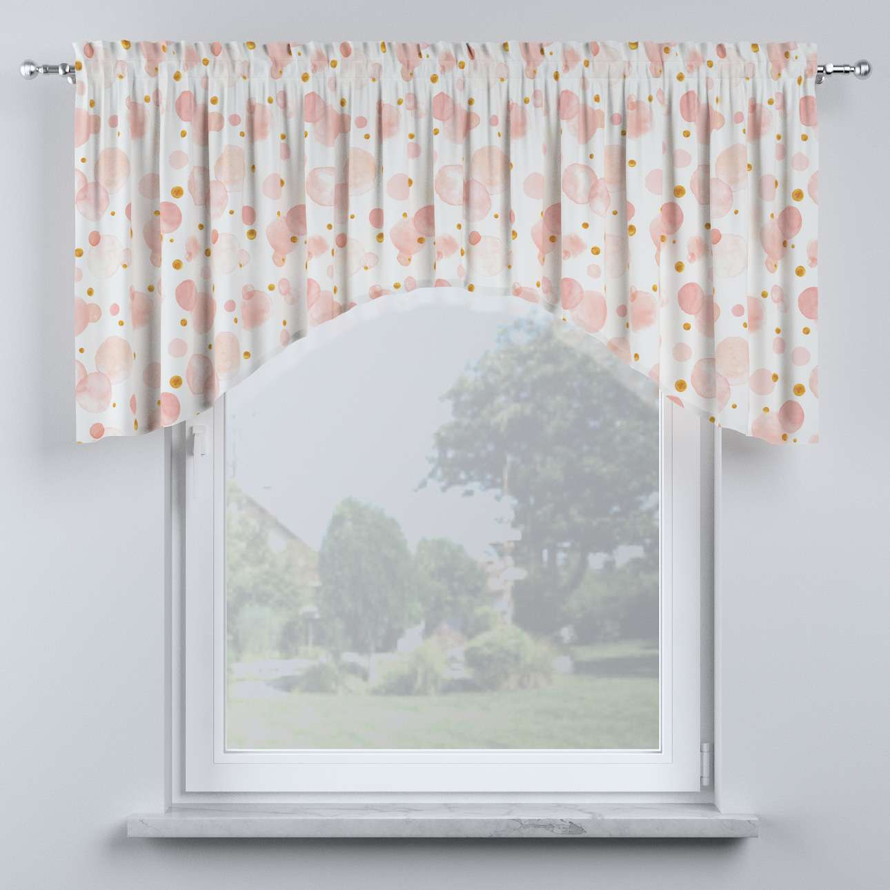Bow lambrequin in collection Magic Collection, fabric: 500-13
