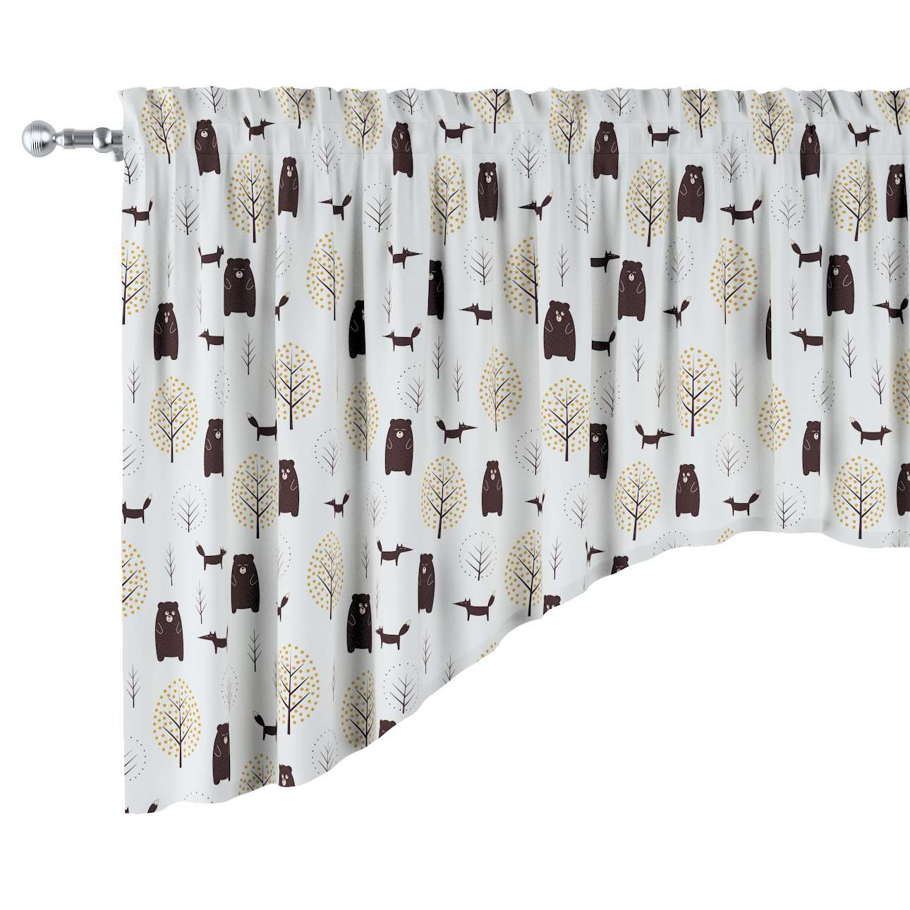 Bow lambrequin in collection Magic Collection, fabric: 500-19