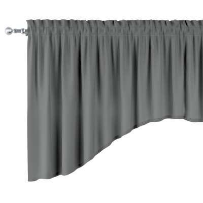 Välvt gardinkappa med rynkband och kanal