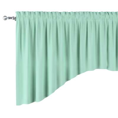 Bow lambrequin 133-37 mint green Collection Happiness