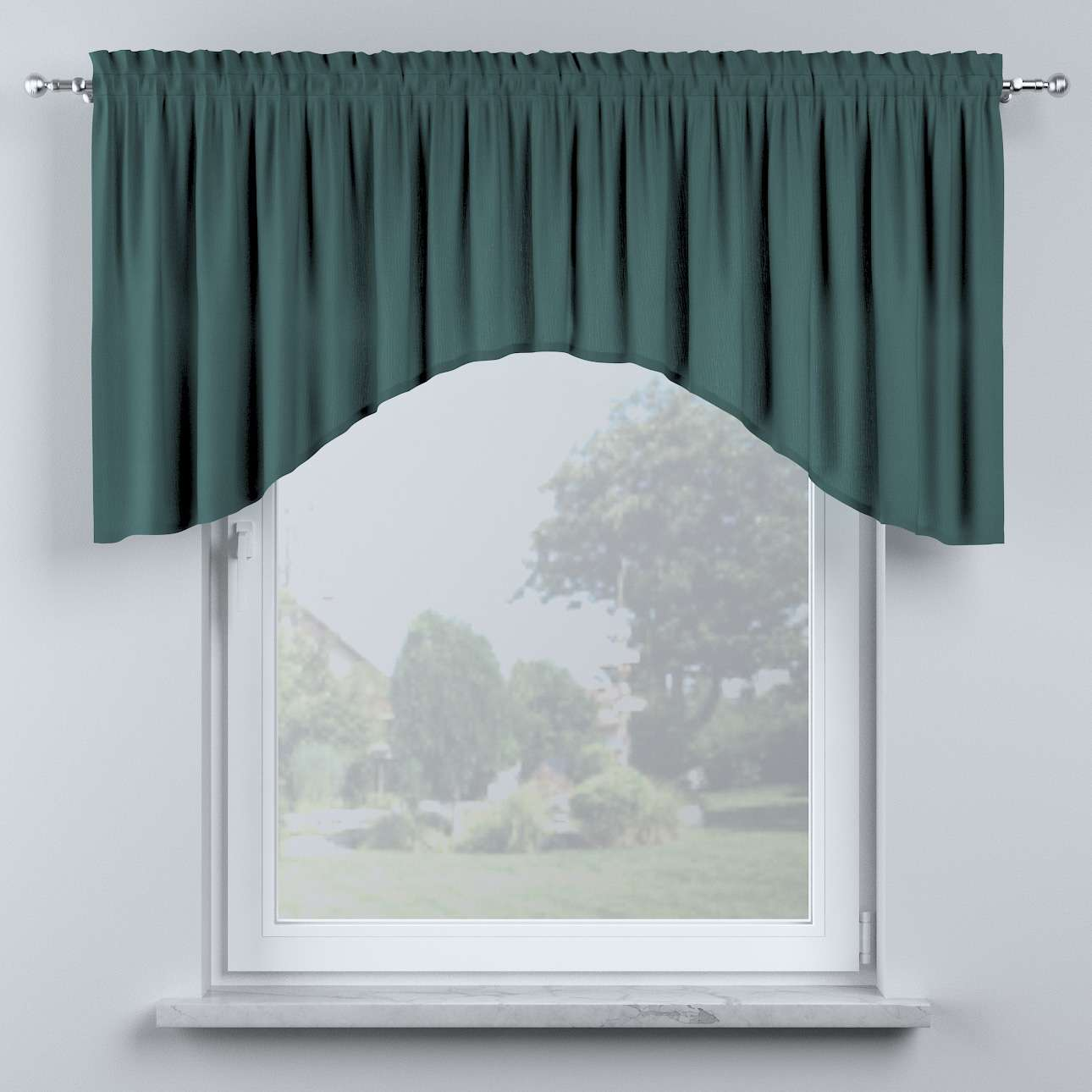 Bow lambrequin in collection Nature, fabric: 159-09