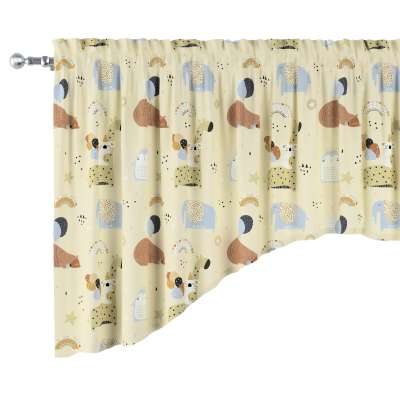 Schabracke in Bogenform 500-46 beżowy Kollektion Magic Collection