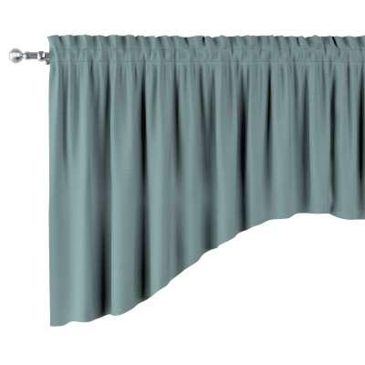 Schabracke in Bogenform 702-40 eukaliptusowy błękit Kollektion Cotton Story
