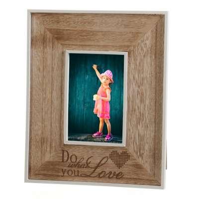 Ramka na zdjęcia Love 23x28cm Képek, tükrök, órák gyertatartók és sok gyönyörű dekor elem - Dekoria.hu